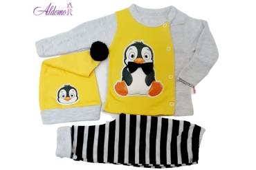 Compleu Model Pinguin Bebe
